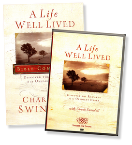 A Life Well Lived: Discover the Rewards of an Obedient Heart.    DVD & Bible Companion Set