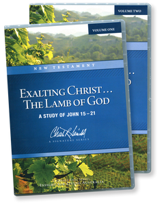 Exalting Christ ... The Lamb of God.  16 CD Series