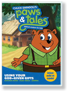 Paws & Tales Volume 6: Using Your God-given Gifts.  DVD