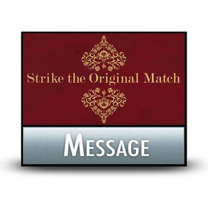 Strike the Original Match:  01  Let's Consult the Architect.  MP3 Download