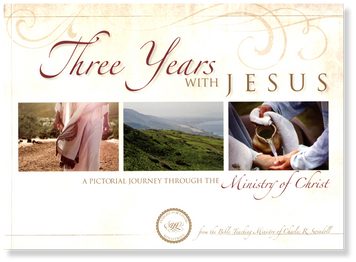 Three Years With Jesus: A Pictorial Journey Through the Minsitry of Christ.  Paperback Book