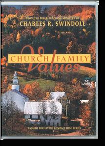 Church Family Values.  4 CD Series