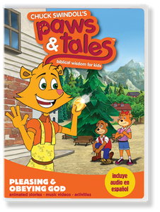 Paws & Tales Volume 10: Pleasing and Obeying God.  DVD