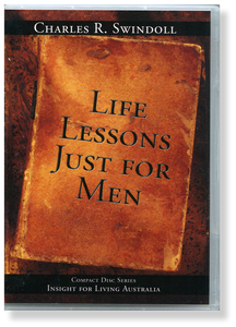 Life Lessons Just for Men.  4 CD Series