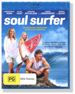 Soul Surfer.  Blu Ray