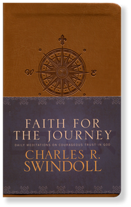 Faith for the Journey: Daily Meditations.  Bonded Leather Book