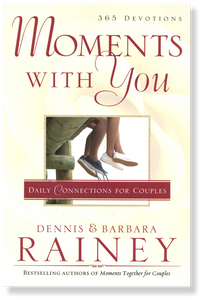 Moments with You: Daily Connections For Couples.  Paperback Book