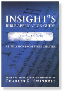 Insight's Bible Application Guide 4: Isaiah-Malachi.  Paperback Book