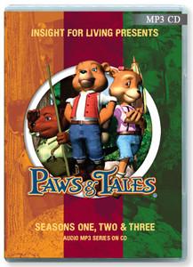 CD Series - Paws & Tales: Seasons 1, 2 & 3.  (MP3 Format)