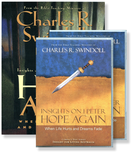 Insights on 1 Peter:  Hope Again:  When Life Hurts and Dreams Fade.  17 CD Series & Workbook