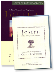 Joseph: A Man of Integrity and Forgiveness.  12 CD Series & Bible Companion
