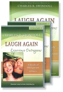 Laugh Again: Experience Outrageous Joy.  14 CD Series & Bible Companion