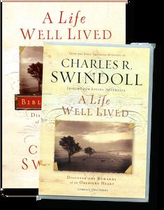 A Life Well Lived.  4 CD Series & Bible Companion
