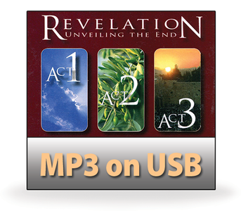 Revelation.  Acts 1-3.  40 MP3 on USB Series