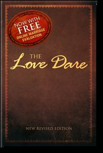 The Love Dare.  Paperback Book