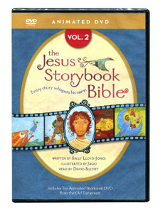 Jesus Storybook Bible Vol 2.   DVD