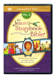 Jesus Storybook Bible Vol 4.  DVD