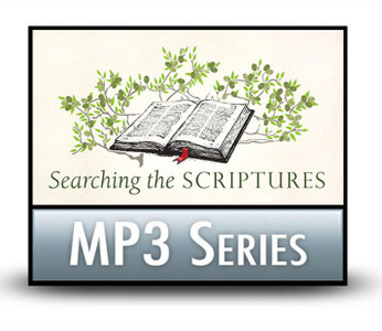 Searching the Scriptures: Find the Nourishment Your Soul Needs.  8 MP3 Download Series