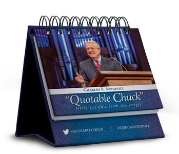 Flip Calendar (Evergreen): Quotable Chuck : Daily Insights from the Pulpit.