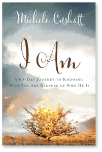 I Am: A 60-Day Journey to Knowing Who You Are Because of Who He Is.  Paperback Book