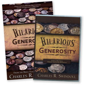 Hilarious Generosity. 5 CD Series & Bible Companion