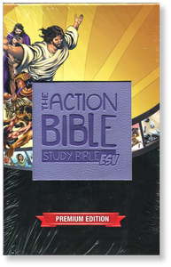 The Action Bible Study Bible. ESV.  Leatherlike Book