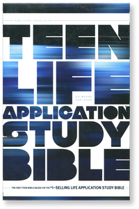 Teen Life Application Study Bible.  Hardback Book