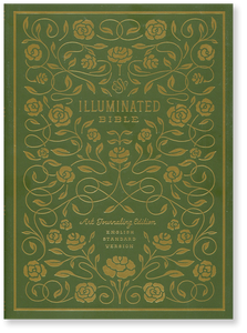 ESV Illuminated Bible.  Hardcover Book