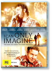 I Can Only Imagine.  DVD