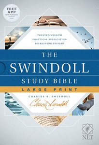 The Swindoll Study Bible. NLT, Slightly Larger Print Hardcover Edition