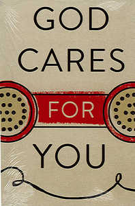 God Cares for You.  Pack of 25 Tracts