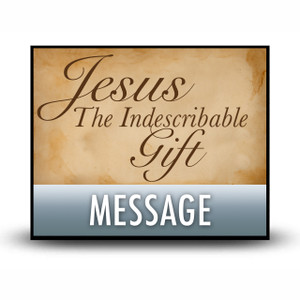 Jesus: The Gift of God's Grace.   MP3 Download