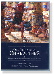 Old Testament Characters. Practical Life Lessons from the Lesser Known.   12 CD Series