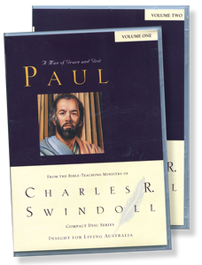 Paul: A Man of Grace and Grit.  22 CD Series