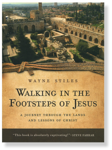 Walking in the Footsteps of Jesus.  Paperback Book
