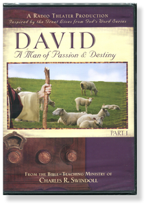 David: A Man of Passion & Destiny, Part 1 Radio Theatre Production.  2 CD Series