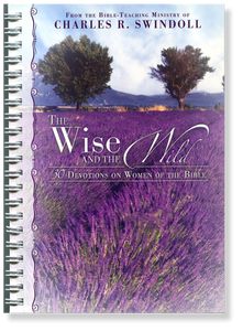 The Wise & the Wild: 30 Devotions on Women of the Bible.  Paperback Book