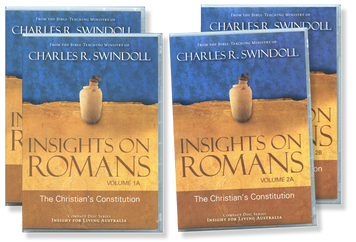 Insights on Romans: The Christian's Constitution, Vols 1 & 2.  44 CD Series