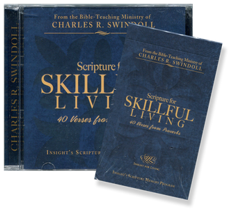 Scripture for Skillful Living: 40 Verses from Proverbs.  CD & Cards