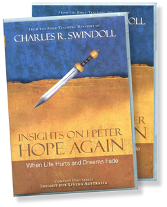 Insights on 1 Peter:  Hope Again:  When Life Hurts and Dreams Fade.  17 CD Series