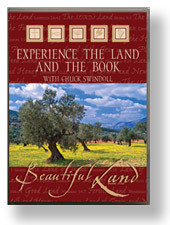 Experience the Land and the Book With Chuck Swindoll.  DVD and Book Set