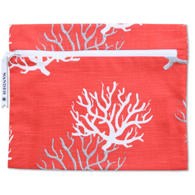 Wander Wet Bag - To The Sea in Coral Reef