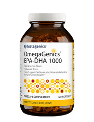 OmegaGenics® EPA-DHA 1000, 60 or 120 softgels