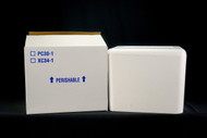 2 inch wall Small Styrofoam Cooler PC30