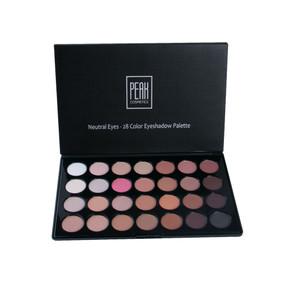 """Neutral Shadows"" – Neutral 28 Color Eyeshadow Palette"