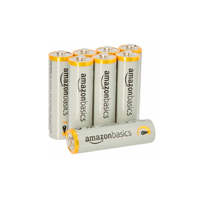 5 AA Alkaline Batteries Pack