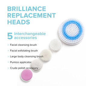 Brilliance Spin-Care System - Replacement Heads Set