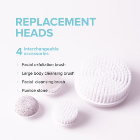 Radiance Spin-Care System  - Replacement Heads Set Recharge