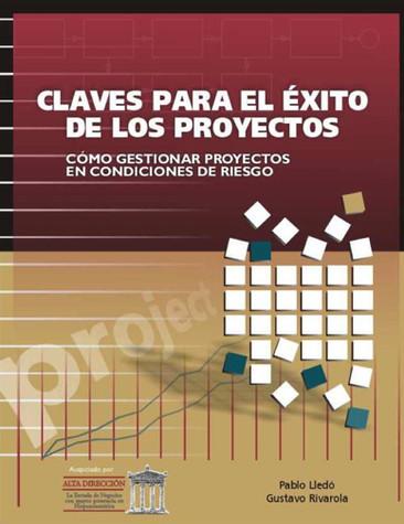 Nueva versión en PDF! Publicado en el 2004, fue uno de los primeros libros escritos en español que vincula la dirección de proyectos, los recursos humanos y la administración de riesgos. Versión: 1.1