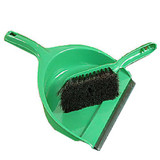 Dustpan Set Green